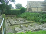 Roman granaries block at Ribchester.
