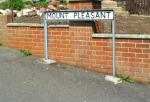 Mount Pleasant Sign at Chesterton.