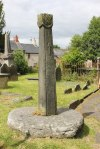 Cross-Shaft in Corwen churchyard (Jeff Buck - Geograph)