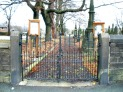 St John's churchyard entrance.