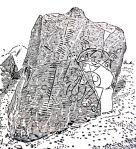 Brandsbutt Stone near Inverurie.