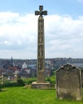 Caedmon's Cross at Whitby.