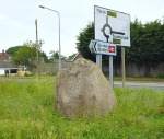 The Crossgates Stone near Seamer railway station.