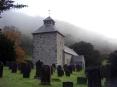 St Melangell's Church, Pennant Melangell (Photo Credit: Wikipedia)