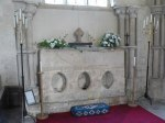 Shrine of St Candida at Whitchurch Canonicorum. (Photo credit: Wikipedia)