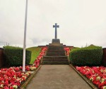 Preesall War Memorial on the B5270 Lancaster Road.