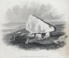 Arthur's Stone near Swansea (depicted c 1840 by Henry G. Gastineau - Wikipedia)