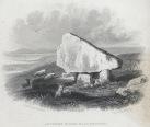 Arthur's Stone near Swansea (depicted c 1840 by Henry G. Gastineau - Wikipedia)
