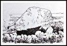 Maen Ceti (Arthur's Stone) illustration.