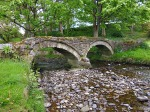 The pack-horse bridge, Wycoller, Lancashire.