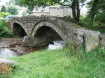 Pack-horse bridge at Wycoller, Lancashire.