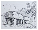 Cromlech at Plas Newydd, Anglesey (Drawing)