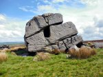 Hitching Stone on Keighley Moor.