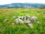 Whitelow Cairn (cist grave from the north).