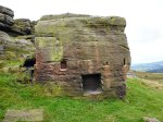 Bridestones, west Yorkshire (the rock-house).