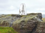 Bridestones, near Todmorden, west Yorks (OS trig point no: S4501)
