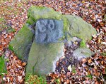Currer Woods Rock Carving, near Eastburn, West Yorkshire.
