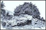 St Fillan's Seat beside Corsliehill Road, Kilallan, Renfrewshire
