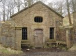 Well-House of Hollinshead Hall, Lancashire, by Margaret Clough (Wikipedia)