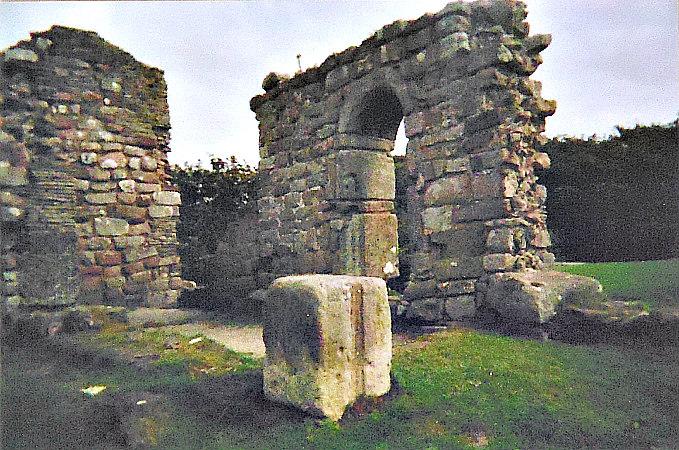 St Patrick's Chapel And Rock Graves, Heysham, Lancashire